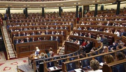 UPN, PRC, CC y Teruel Existe quieren formar un grupo regionalista en el Congreso al margen del Mixto
