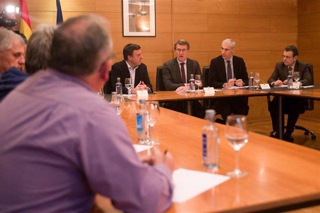 La Xunta se reúne con el grupo de trabajo de As Pontes para abordar la situación de la planta de Endesa