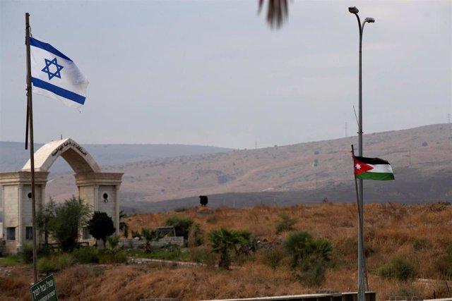 Frontera entre Jordania e Isarel