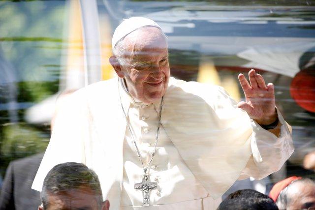 El Papa Francisco de visita en Tailandia.