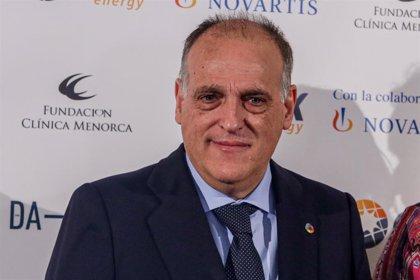 Tebas presenta su dimisión como presidente de LaLiga para convocar nuevas elecciones