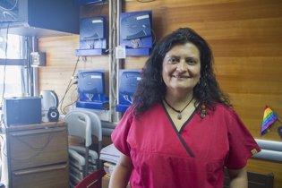 La doctora chilena Loreto Canales