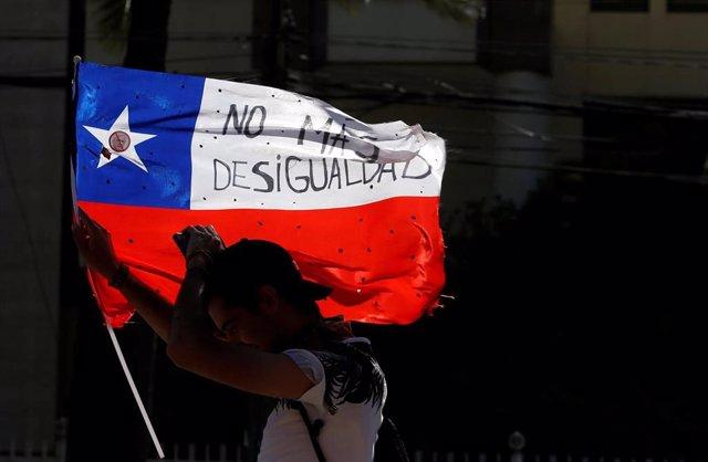 Protestas en Chile contra la desigualdad social