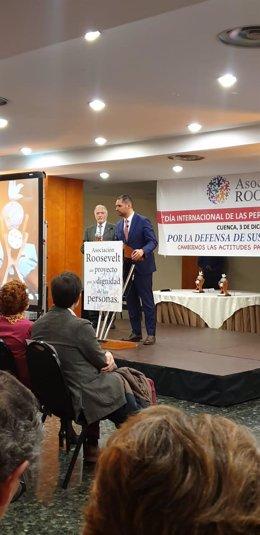 El Ayuntamiento de Ávila recibe en Cuenca el Premio Roosevelt a la accesibilidad