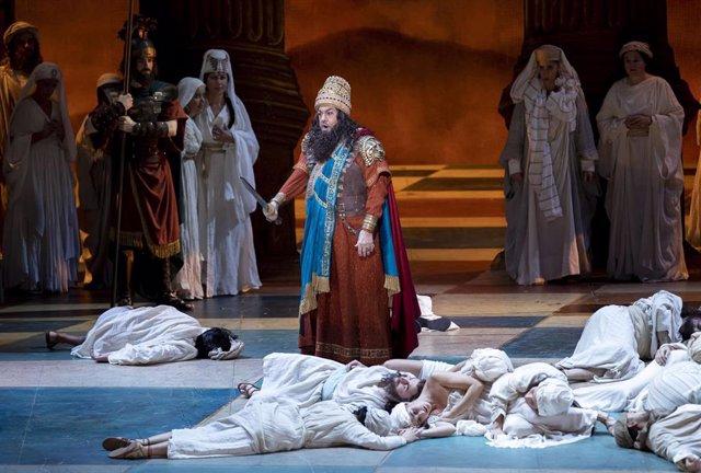 Plácido Domingo en 'Nabucco'