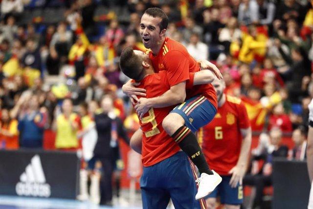 La selección española de fútbol sala