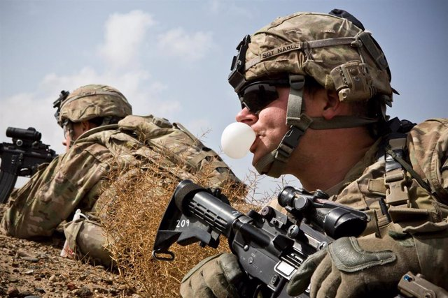 Soldados estadounidenses en Kandahar