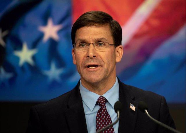 El secretario de Defensa de Estados Unidos, Mark Esper.