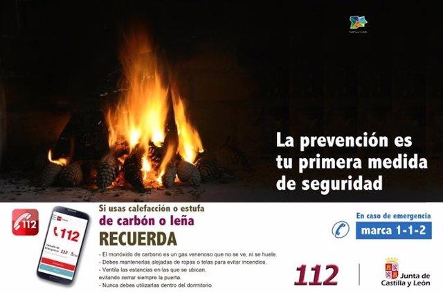 Imagen de archivo del 112 con consejos de medidas de seguridad