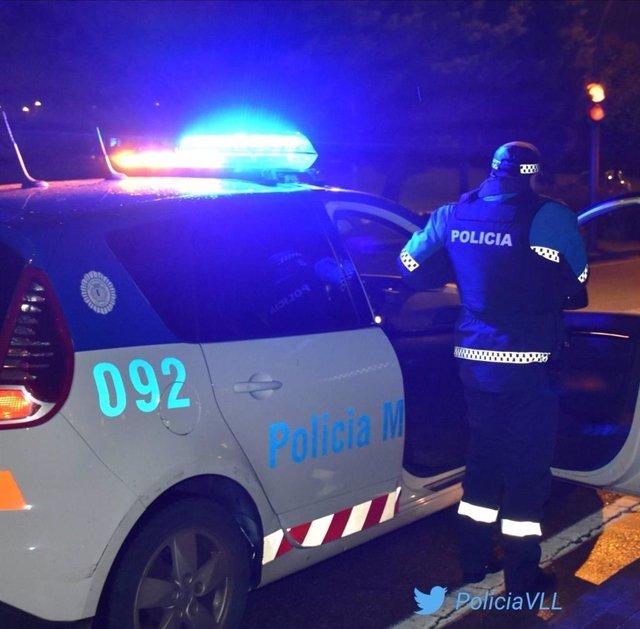 Vehículo de la Policía Municipal de Valladolid