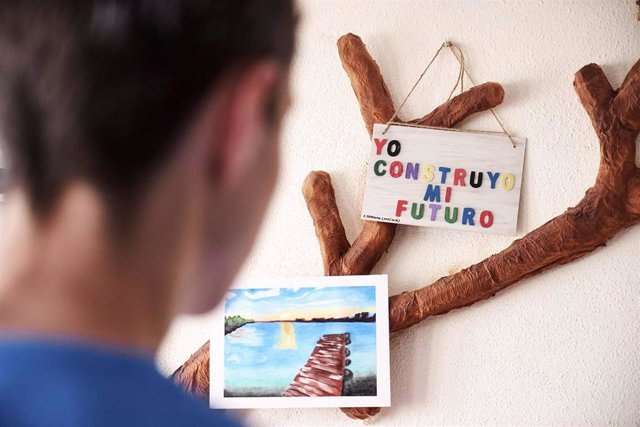 Imagen de archivo de un proyecto de atención a menores de la Fundación Amigó.