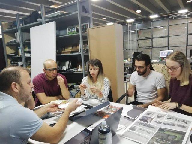 Seis empresas regionales de interiorismo participan en una misión comercial a Co