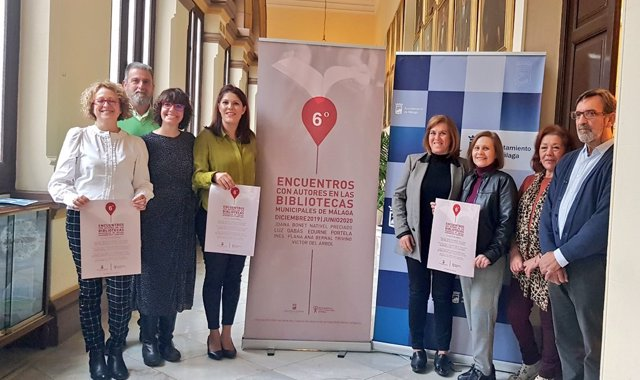 Presentación de la sexta edición del ciclo Encuentros con Autores en las bibliotecas públicas municipales de Málaga capital