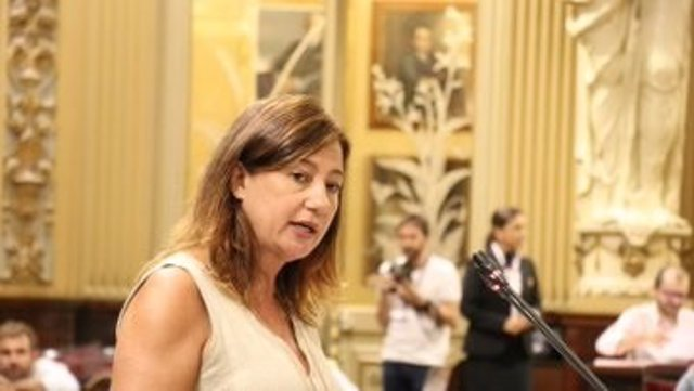 La presidenta del Govern de Baleares, Francina Armengol.