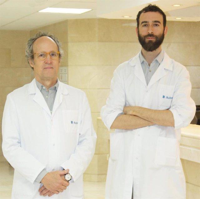 Los neurólogos del Programa de Epilepsia del Hospital Ruber Internacional,  Ángel Aledo y Antonio Gil-Nagel