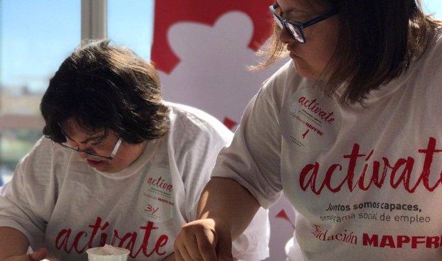 Programa 'Actívate', una de las iniciativas promovidas para apoyar a las personas con discapacidad.