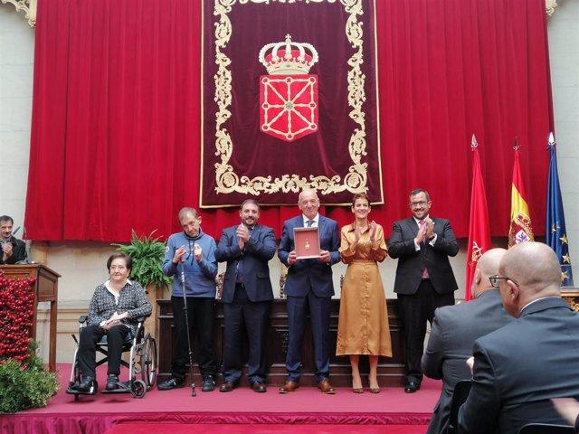 Adacen recibe la Medalla de Oro de Navarra