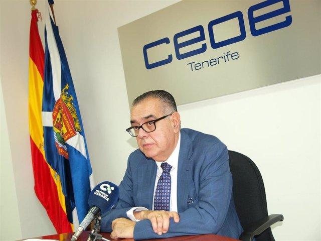 José Carlos Francisco, presidente de CEOE-Tenerife