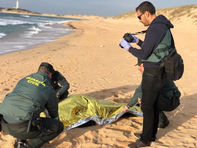 Inmigrante fallecido en Los Caños de Meca