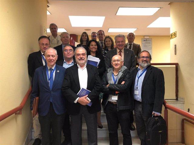 Imagen de la reunión del Consejo de Seguridad Nuclear