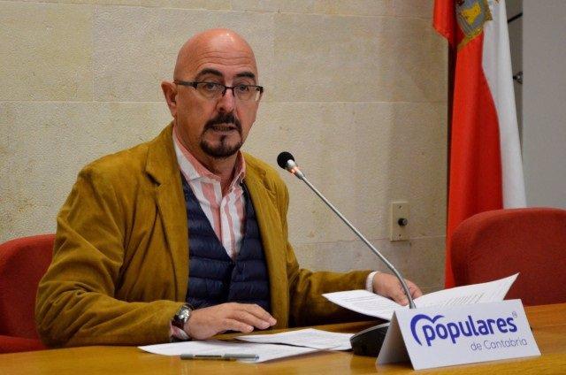 César Pascual, diputado de PP y exgerente de Valdecilla