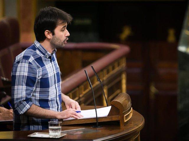 Javier Sánchez, diputado de Podemos