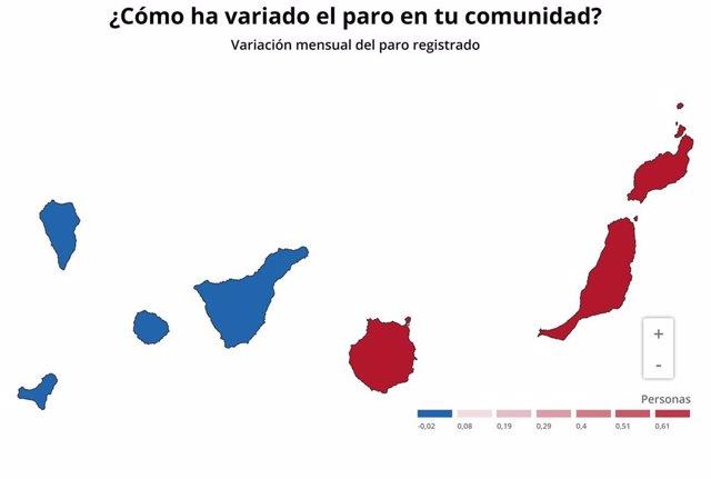 Paro de Canarias en noviembre