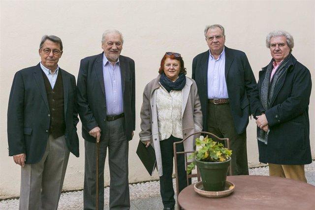 Integrantes del Patronato de la Fundación Manuel Álvarez Ortega reunidos en Córdoba.
