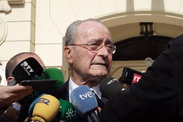 Alcalde de Málaga, Francisco de la Torre, en una imagen de archivo