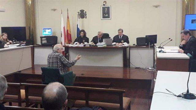 El exalcalde de Castro Fernando Muguruza declara en el juicio de La Loma en la Audiencia provincial