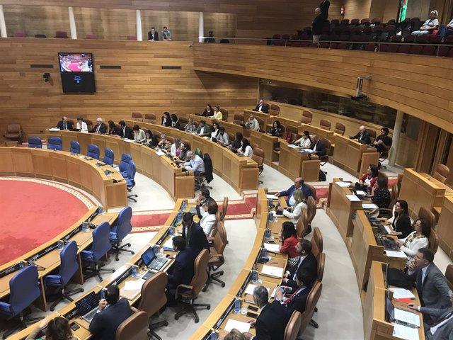 Pleno.- El Parlamento aprueba la ley de la sequía con críticas de la oposición h