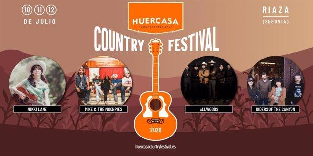 Cartel del Huercasa Country Festival 2020