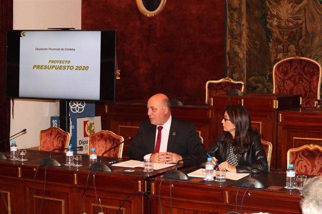 Antonio Ruiz y Felisa Cañete presentan el proyecto de presupuesto de la Diputación de Córdoba para 2020