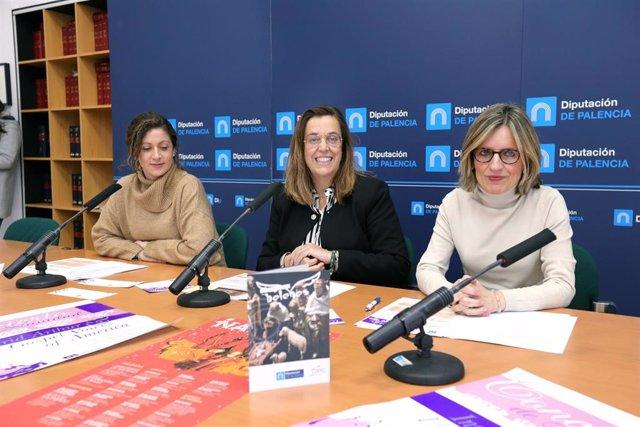 Presentación del programa navideño del 2019 de la Diputación de Palencia.