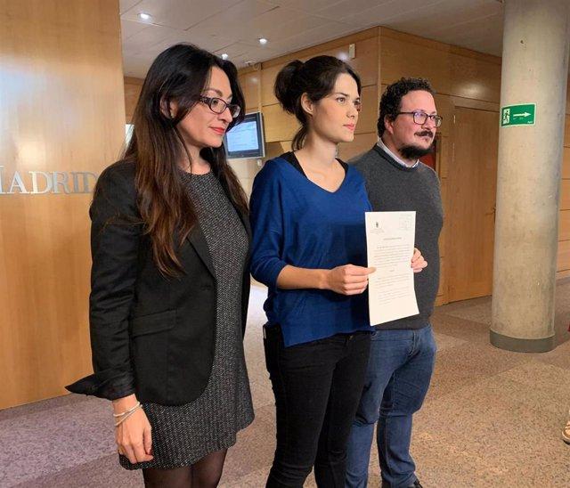 Isa Serra, portavoz de Unidas Podemos en la Asamblea de Madrid. Imagen de recurso