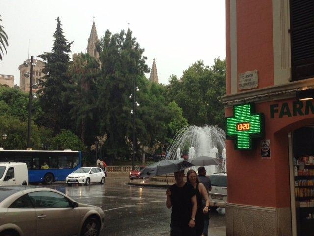 Pluja Mallorca