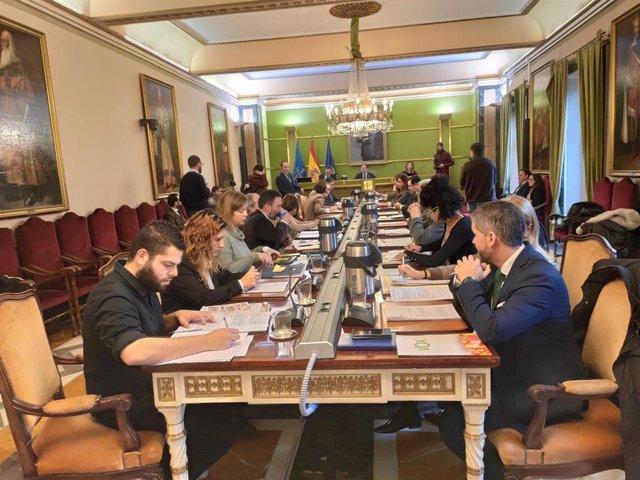 Pleno municipal de Oviedo del 2 de diciembre.
