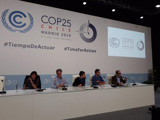 """COP25.- Ecologistas españoles defienden las Cumbres del Clima como """"única herram"""