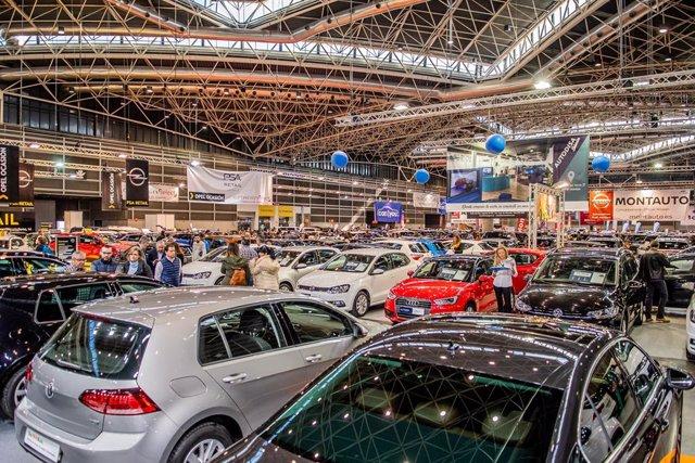 Imagen de archivo de la Feria del automóvil
