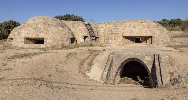 Imagen de recurso de la fortificación Blockhaus nº 13 en Colmenar de Arroyo.