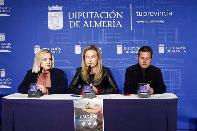 Presentación de la Ultramaratón en la Diputación de Almería
