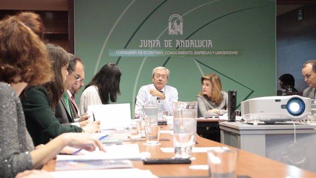 Reunión de constitución del Comité Director de Compra Pública de Innovación de la Administración de la Junta de Andalucía.