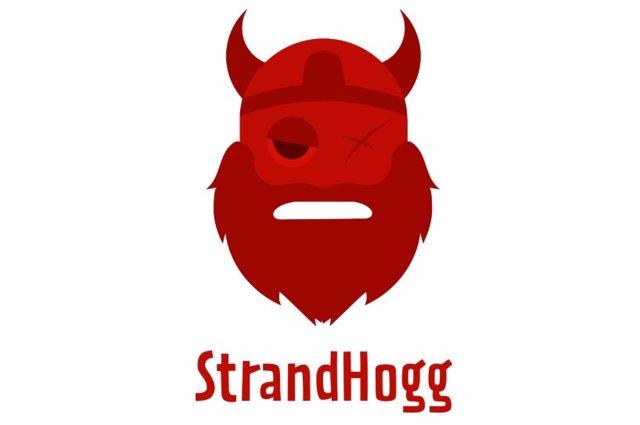 Logo del malware StrandHogg.