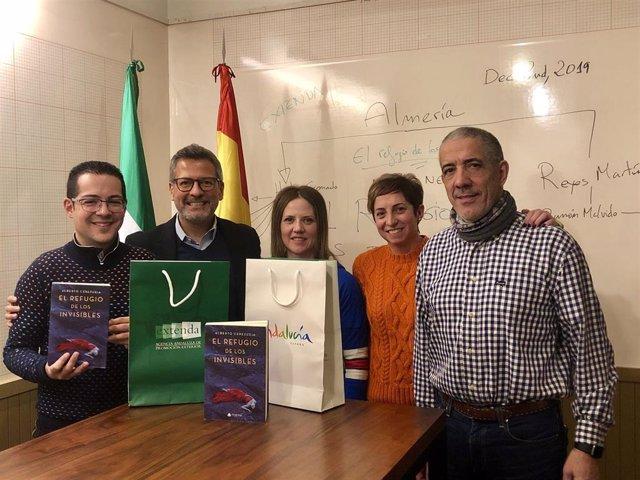 Alberto Cerezuela presenta su novela en la sede de Extenda en Nueva York
