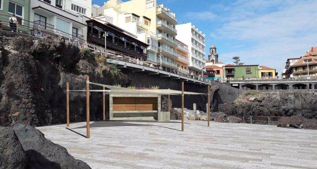 Proyecto del nuevo quiosco del paseo de San Telmo, en Puerto de la Cruz