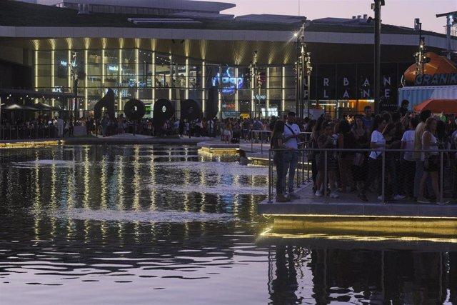 Imagen del centro comercial Lagoh de Sevilla.