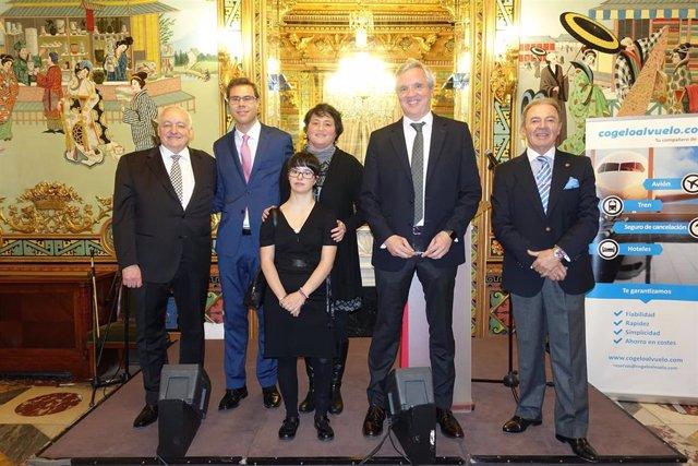 Momento del Acuerdo de Colaboración firmado por UNAV y Fundación Síndrome de Down Madrid.