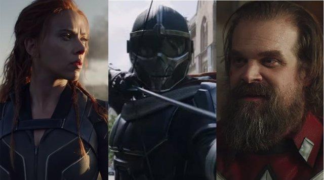 Imágenes de la película Viuda Negra (Black Widow)
