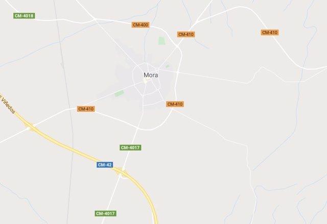 Imagen de Mora en Google Maps