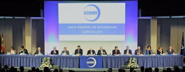 Junta general de accionistas de Acerinox del ejercicio 2018
